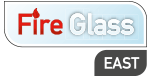 Fire Glass East Logo