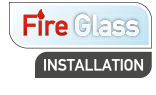 Fire Glass Installation Logo